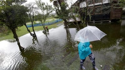 Deadly typhoon lashes Japan's east coast