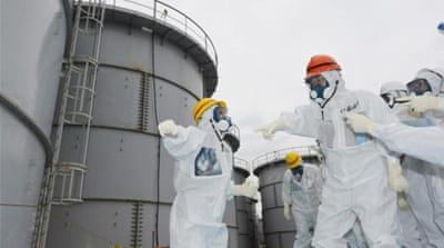Fukushima overwhelmed with radioactive water