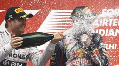 In Pictures: Vettel's rise to the top