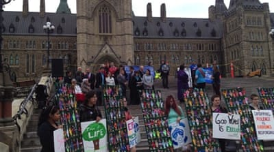 Vigils shed light on Canada's missing indigenous women