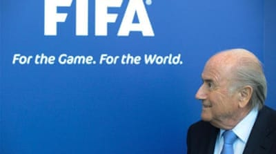 FIFPro, the international players' union, has asked FIFA president Sepp Blatter to step in [AP]