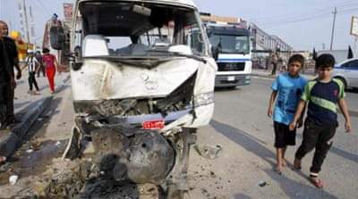 Friday's deadly attacks cap several days of bloody assaults in Iraq as the attacks go unstopped [FILE: AFP]