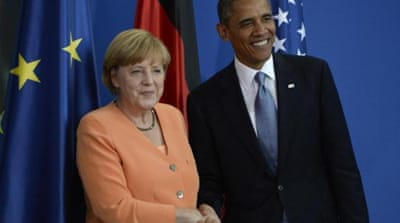 """At the end of the day, both Obama and Merkel are pragmatic people and will find a way to get over this spat,"" writes Rosa Balfour [Getty]"