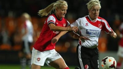 English women's football comes of age