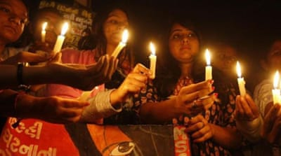 The gang-rape of the student in Delhi last December placed India's misogyny on the world stage [AFP]