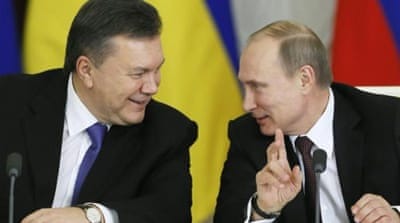 Ukraine PM hails 'historic' deal with Russia
