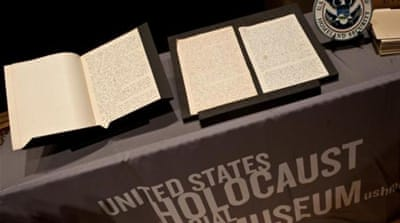 US Holocaust museum acquires lost Nazi diary