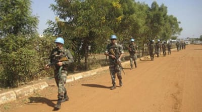 Peacekeepers killed at South Sudan UN base
