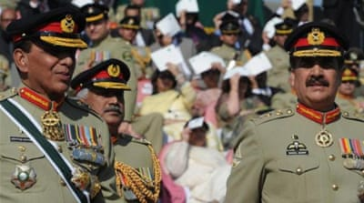 The former COAS looked relieved as he handed over the command to General Raheel Sharif, writes the author [AFP]