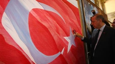 Turkish government has been critical of the military rule in Egypt and the Syrian regime [AP]