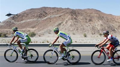 Sagan of Team Canondale finished 11 seconds ahead of Bradley Wiggins and Alberto Contador [GETTY]
