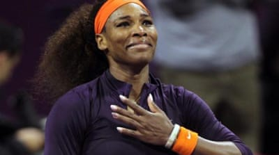 Williams will replace Victoria Azarenka as world number one after progressing to semi-finals [Reuters]