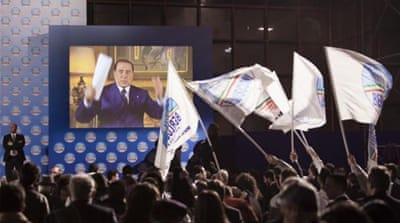 In Pictures: Italy's elections