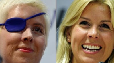 Former Marussia F1 test driver Maria de Villota has been given permission to get back in a car [Reuters]