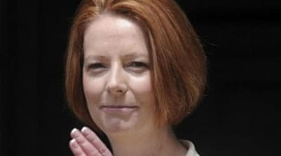 "Julia Gillard has been called ""Ju-liar by her critics"" but hailed for a parliamentary speech on misogyny [EPA]"
