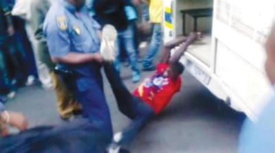 S Africa video exposes rot in police system
