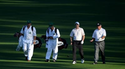Chairman of the Augusta National Golf Club Billy Payne announces changes in press conference [AP]