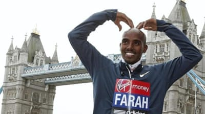 British athlete Mo Farah is excited about running the half-marathon in city where he grew up [EPA]