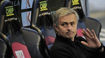 Mourinho says he has a good relationship with Real Madrid president and sporting director [AP]