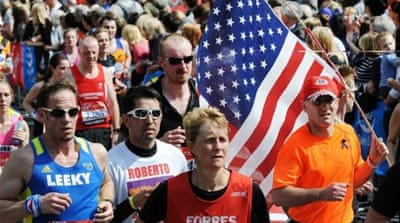 London Marathon pays tribute to Boston