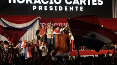 Horacio Cartes, the newly elected president of Paraguay, was allegedly involved in money laundering according to a WikiLeaks cable from the United States embassy in Buenos Aires [AP]