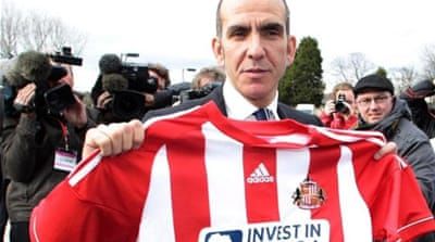 A dark cloud has hung above the Stadium of Light since the appointment of Paolo Di Canio [AP]