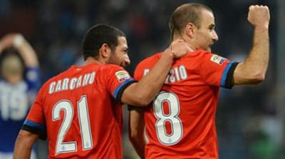 Palacio scored twice against Sampdoria as Inter Milan jumped to fifth position in Serie A [GALLO/GETTY]