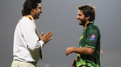 Former Pakistan cricketer Akram is helping to find new crop of bowlers during break from commentator duties [GETTY]