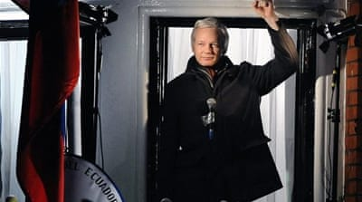 The UK has refused to promise Julian Assange safe passage out of the country [EPA]