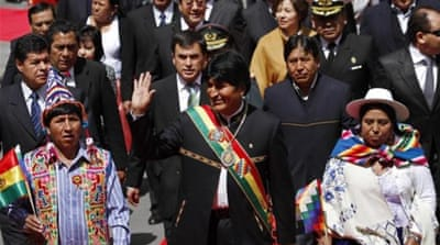 Bolivia without Hugo Chavez