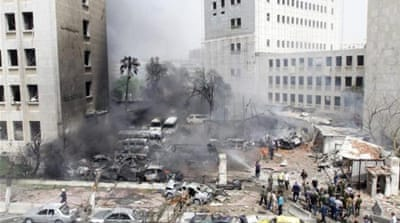 Deadly car bomb rocks central Damascus