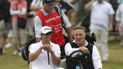 Major in sight? Scott came close to winning the 2012 British Open but lost by a shot to Ernie Els [AFP]