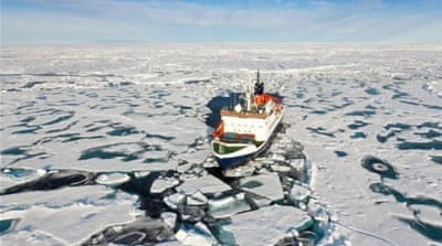 China angles for Arctic power as ice melts