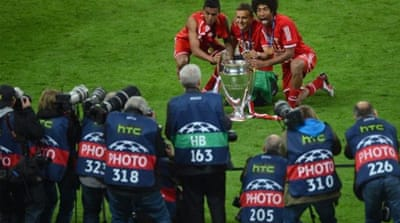 Can Bayern Munich lift another trophy to complete the perfect season under Jupp Heynckes? [AFP]