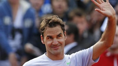 Federer is looking for his first tournament win of the year and first major title since Wimbledon in 2012 [AP]