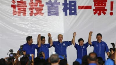 Election casts spell on streets of Malaysia