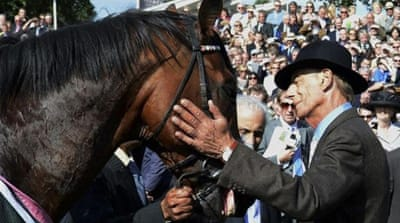 Henry Cecil trained retired super-horse Frankel - who now commands a stud price of $195,000 [Reuters]