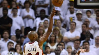 It's all to play for in Game Seven after last minute heroics from Ray Allen during a classic NBA contest [AP]