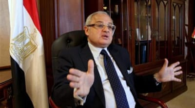 "Hesham Zazou said he ""cannot continue in the role of tourism minister"" [AP]"