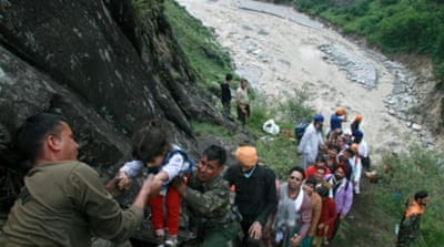 Flood death toll in India hilly states climbs