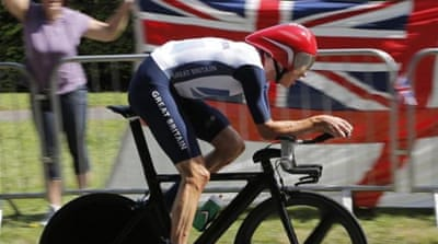 British cyclist Wiggins was ruled out of this year's race due to illness and injury [AFP]