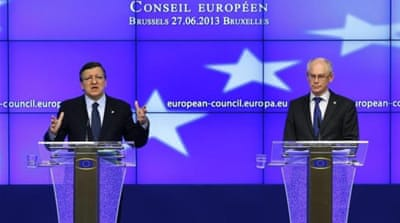 Presidents and prime ministers from the 27 EU nations have attended a two-day summit in Brussels [Reuters]