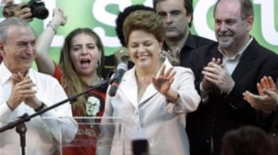 About a quarter of the Brazilian people think Rousseff's government is doing a bad or terrible job [AP]