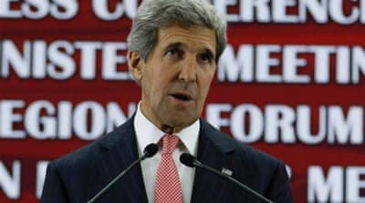 Kerry commented on the issue, raised by the EU foreign affairs chief, at a security conference in Brunei [AFP]