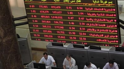 Egypt's stock market has surged in recent weeks but the country's economy faces deep problems [EPA]