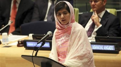 Malala's fight back from her injuries and speech at the UN have inspired people around the globe [EPA]