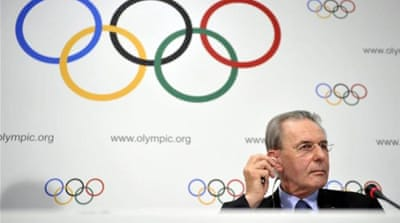 Current IOC President Jacques Rogge steps down in September after 12 years in charge [AP]