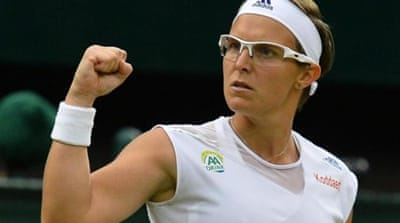 Wimbledon semi-finalist Kirsten Flipkens was ranked 262 in the world just 12 months ago [AFP]