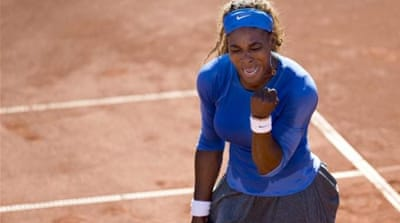 After recent disappointment at Wimbledon, Williams continued her winning ways to reach 69th final [AP]