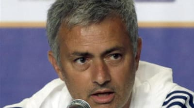 Mourinho is happy none of his players, including Ashley Cole, are for sale over the break [AP]